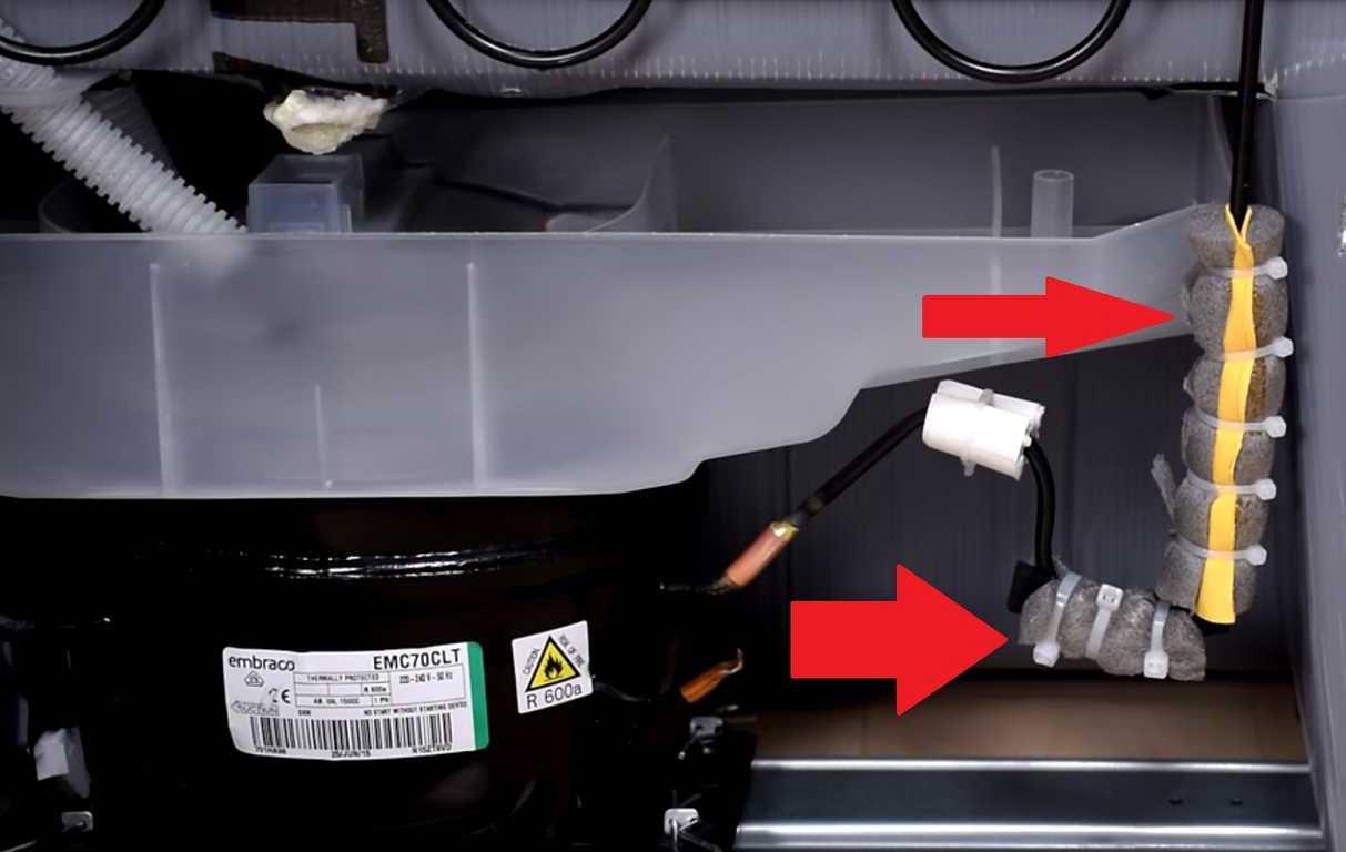 Фото шумно работает холодильник - необходимо проверить компрессор