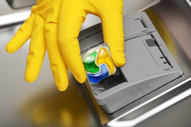 Фото чому посудомийна машина не миє посуд - використовуйте якісні миючі засоби