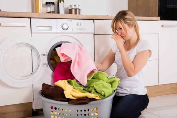 Фото Как убрать неприятный запах из стиральной машины - общие советы