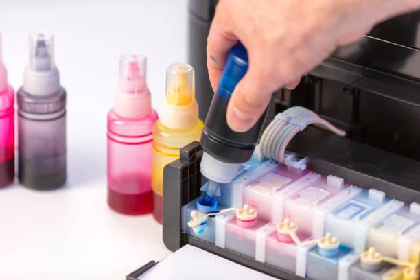 Фото Как выбрать принтер для дома - система непрерывной подачи чернил