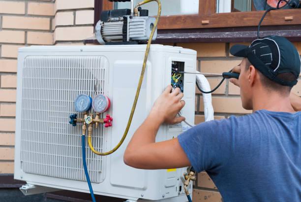 Фото кондиціонер не охолоджує, а працює як вентилятор - необхідна чистка зовнішнього блоку