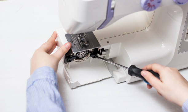 Photo Master for repair of sewing machines and overlocks