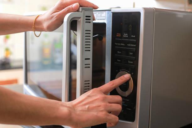 Фото почему микроволновая печь не греет или слабо греет - выбран неверный режим