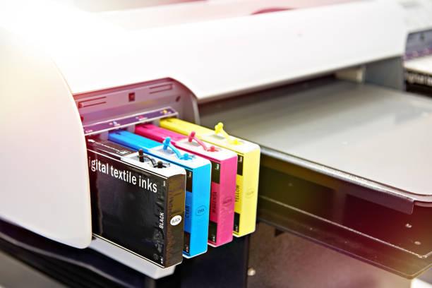 Фото Почему плохо печатает струйный принтер - засохли чернила