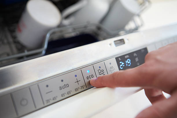 Фото чому посудомийна машина погано миє посуд - перевірте режим