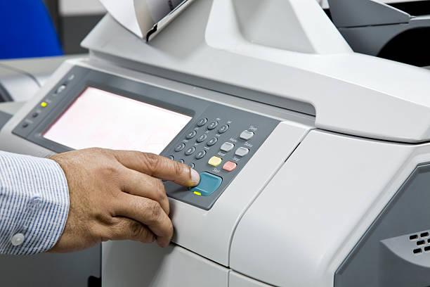 Фото Чому принтер друкує білі листи - перезавантажте пристрій