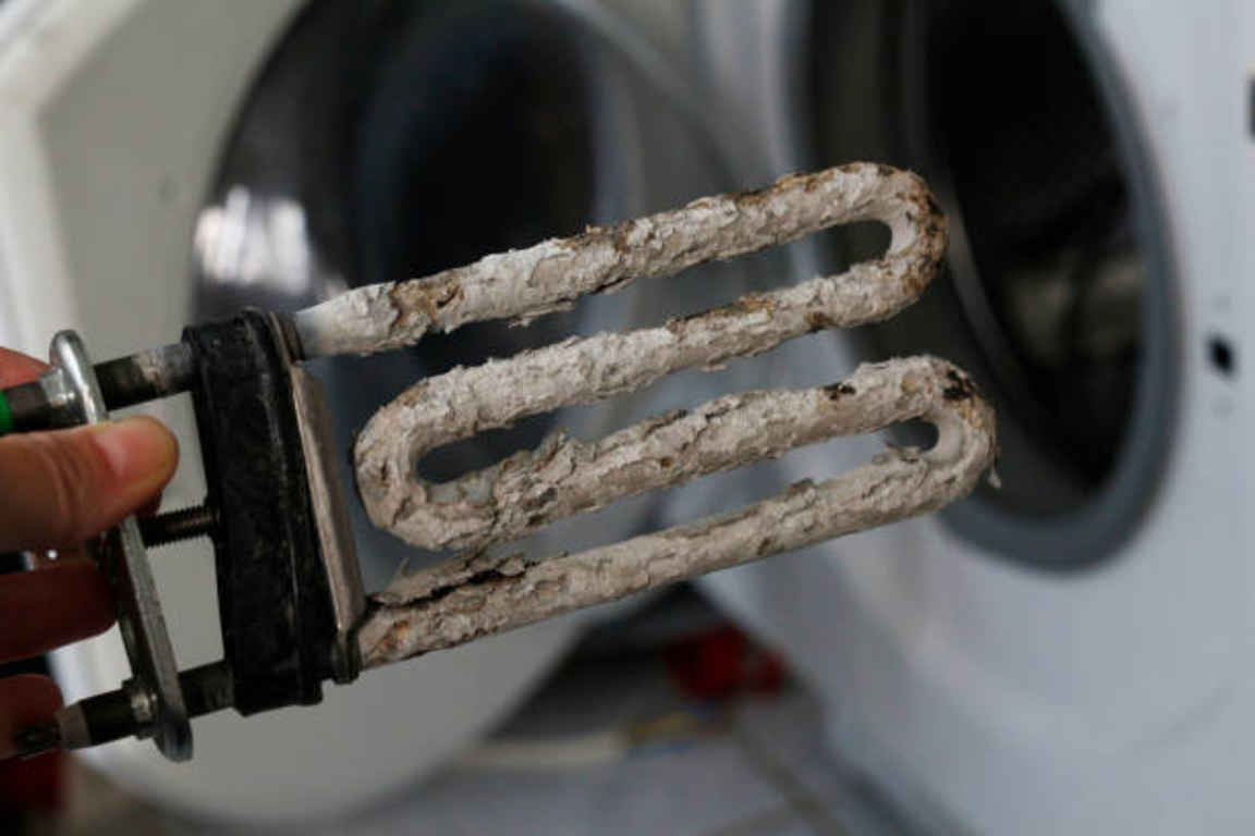 Фото Чому пральна машина не гріє воду - можливо пошкодження нагрівального елементу