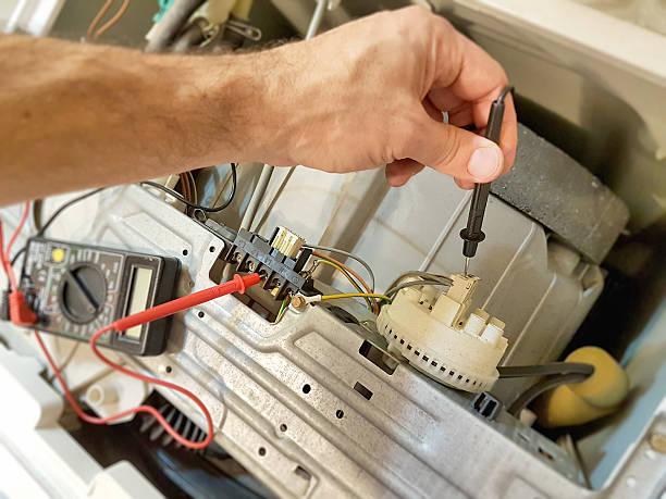 Фото Почему стиральная машина не сливает воду - необходимо проверить все узлы