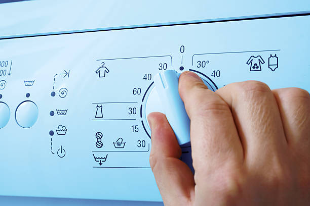 Фото Почему стиральная машина не сливает воду - проверьте выбранный режим