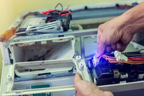 Фото Чому пральна машина погано гріє воду - необхідно перевірити електронний модуль