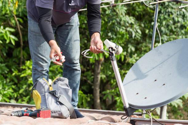 Фото Причины поломки ЖК телевизора - неисправность антенны
