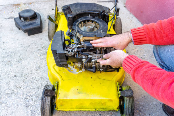 Photo services for the repair of gardening equipment